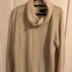 Cowl neck sweater
